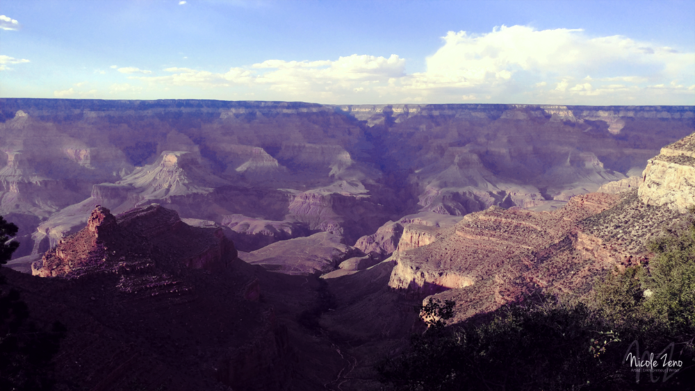 Nicole Zeno Photgraphs The Grand Canyon for Her Rim to Rim Trip